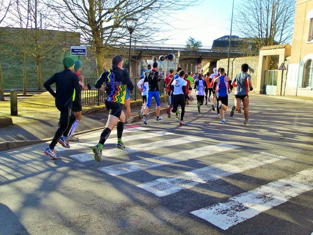 Passerelle du Vieux-Condé: la bien-aimée des coureurs urbains