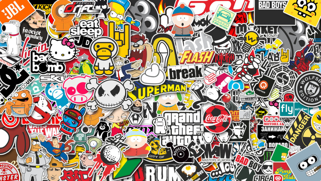 Le sticker: un art urbain en plein essor